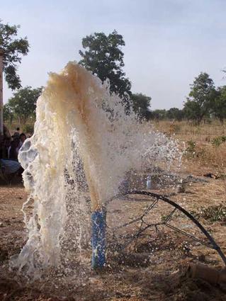 L'eau de la terre